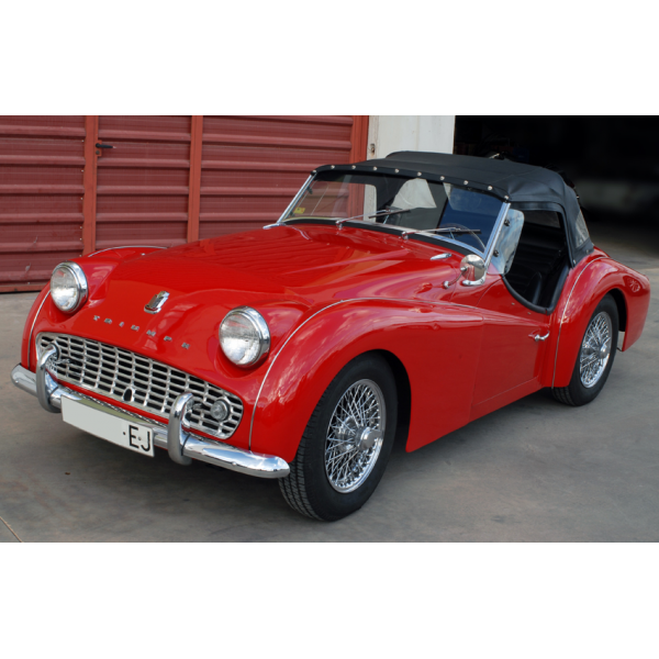 Triumph tr3-a photo - 2