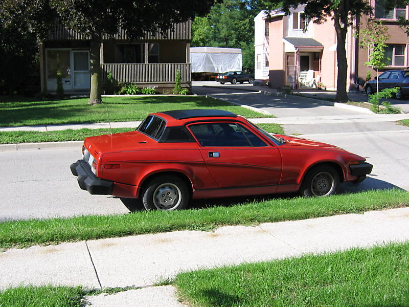Triumph tr7 photo - 2
