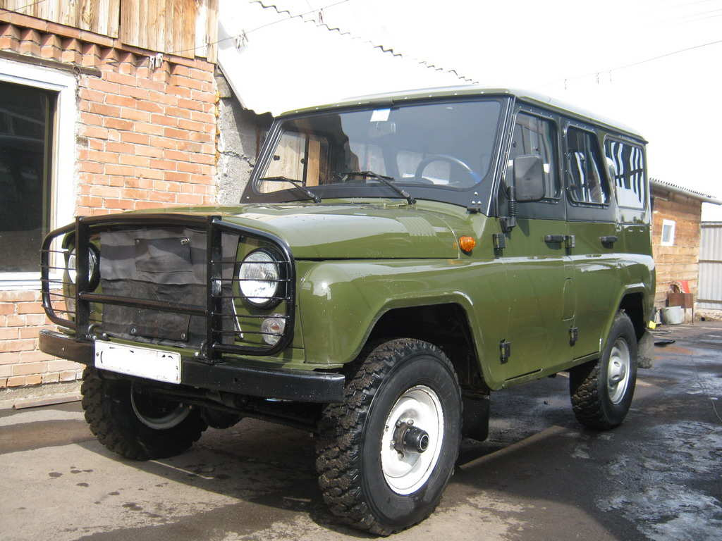 Uaz hunter photo - 3