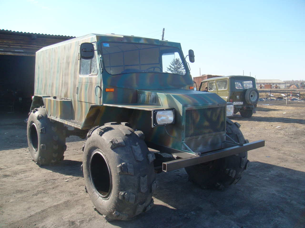 Uaz hunter photo - 4