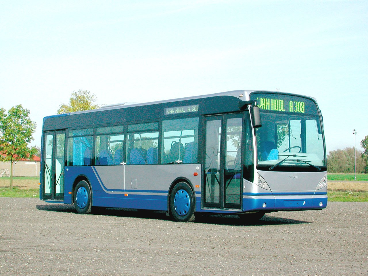 Van hool a600 photo - 2