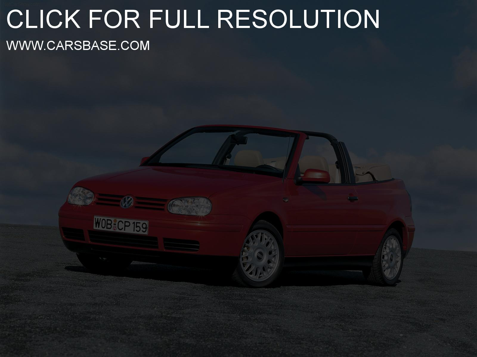 Volkswagen cabriolet photo - 1