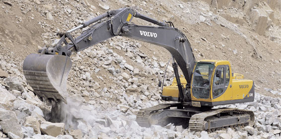 Volvo ec240 photo - 1