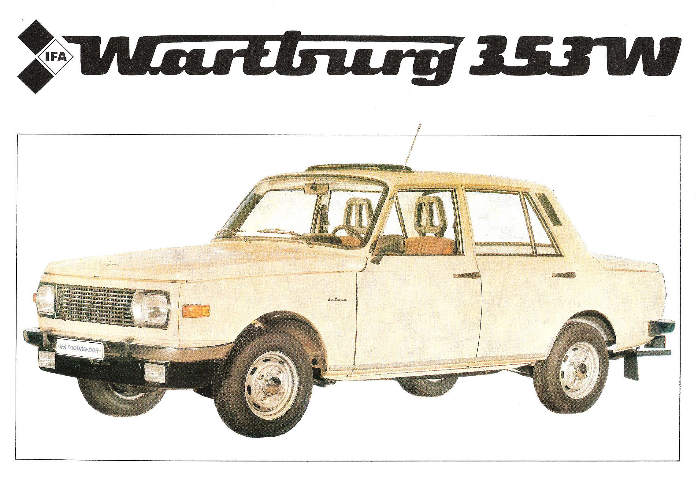 Wartburg 353w photo - 1