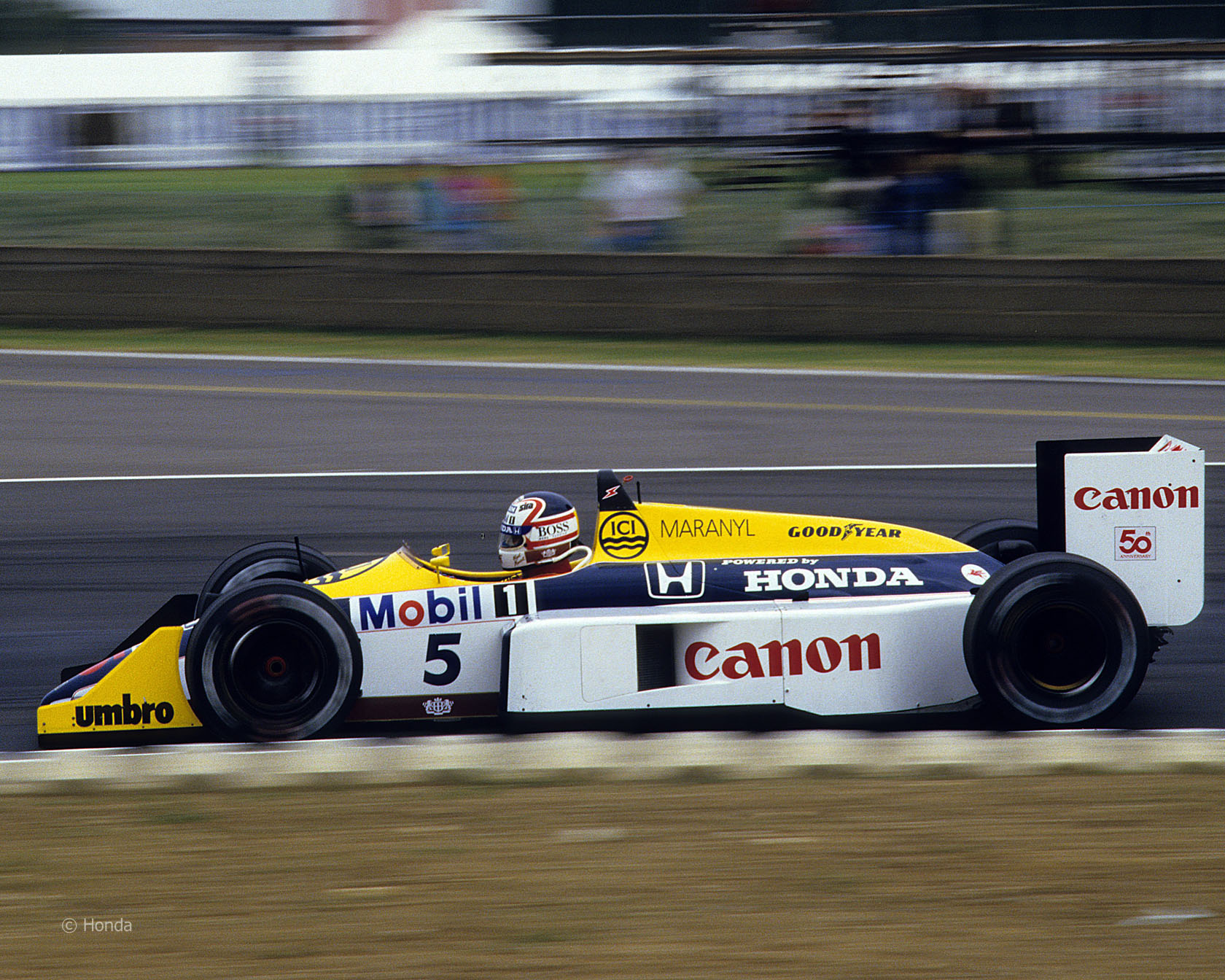 Williams fw11 photo - 1