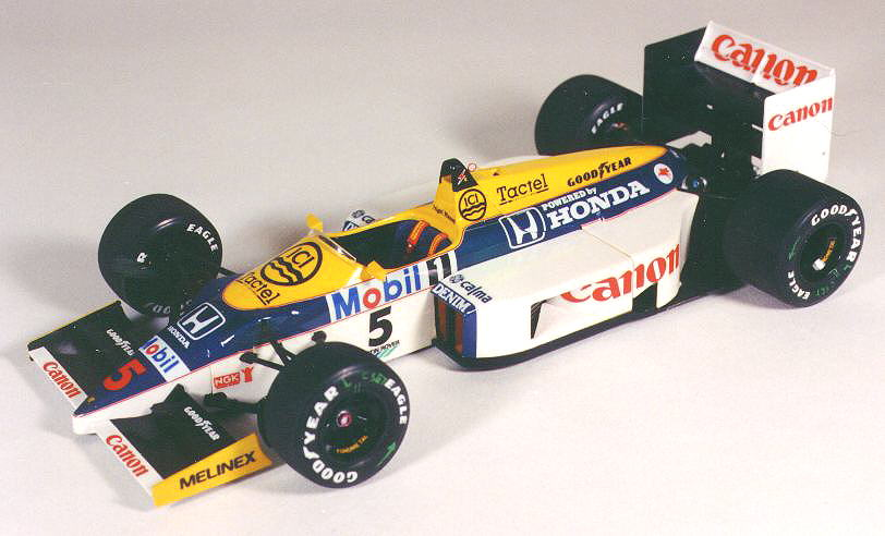 Williams fw11 photo - 2
