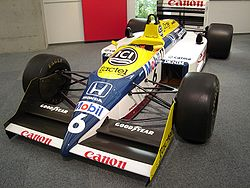 Williams fw11 photo - 3