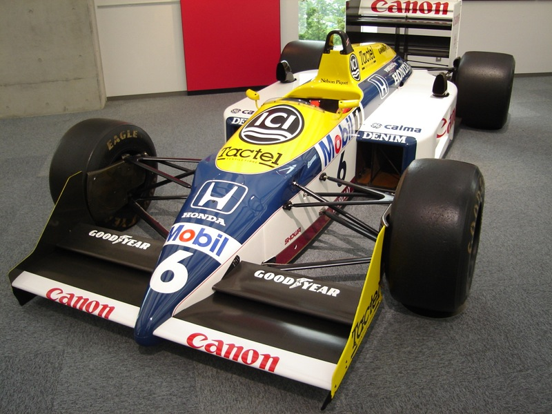 Williams fw11b photo - 1