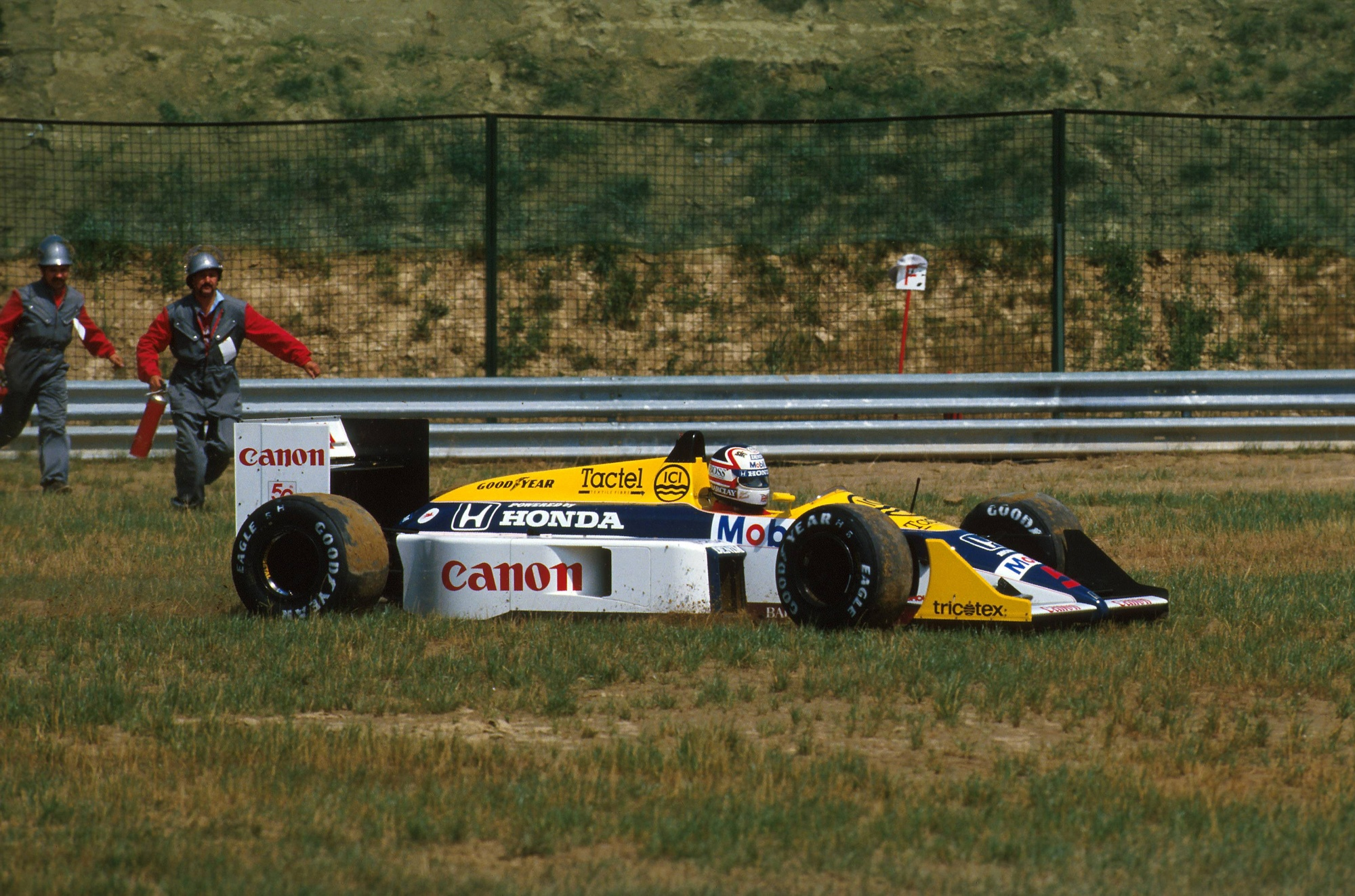 Williams fw11b photo - 4
