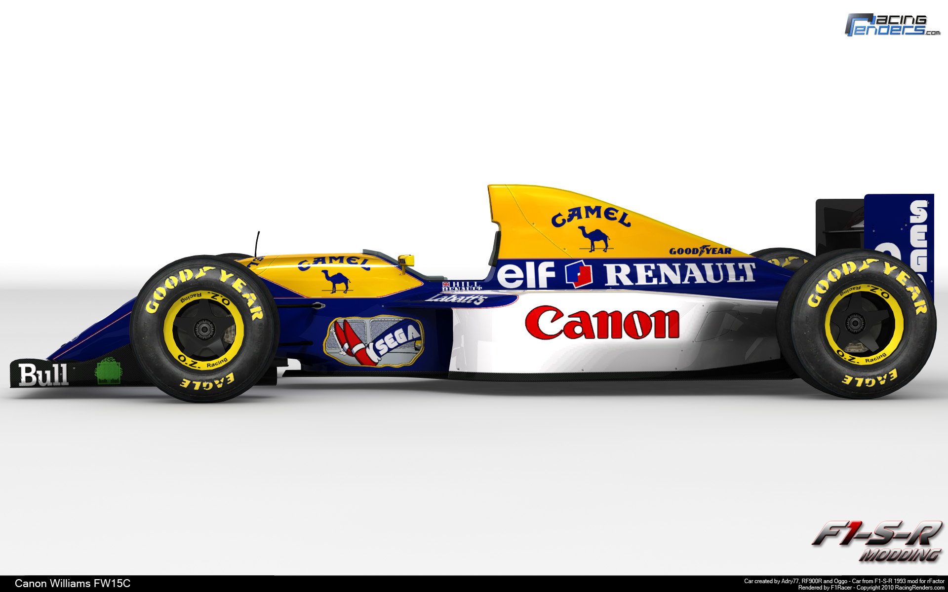 Williams fw12 photo - 1