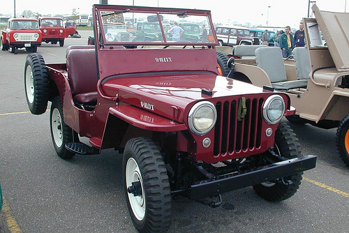 Willys cj2a photo - 2