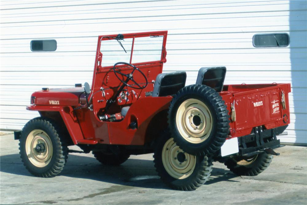 Willys cj2a photo - 4