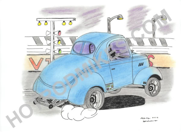 Willys dragster photo - 1