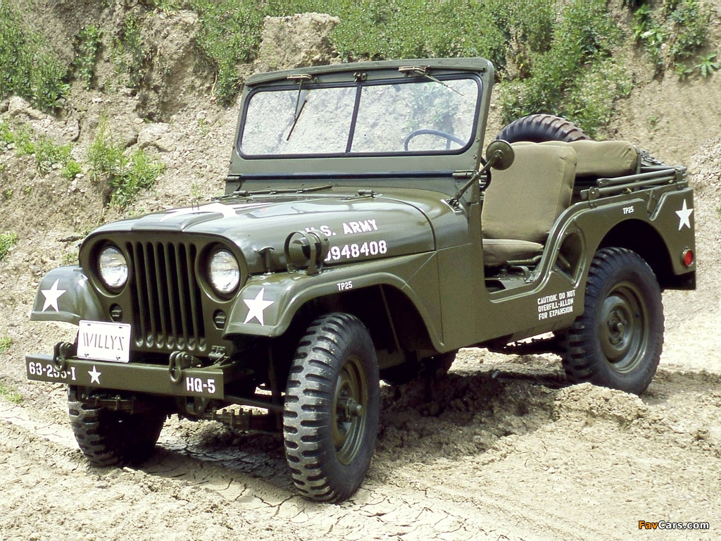 Willys m38 photo - 3