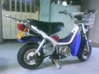 Yamaha chappy photo - 2