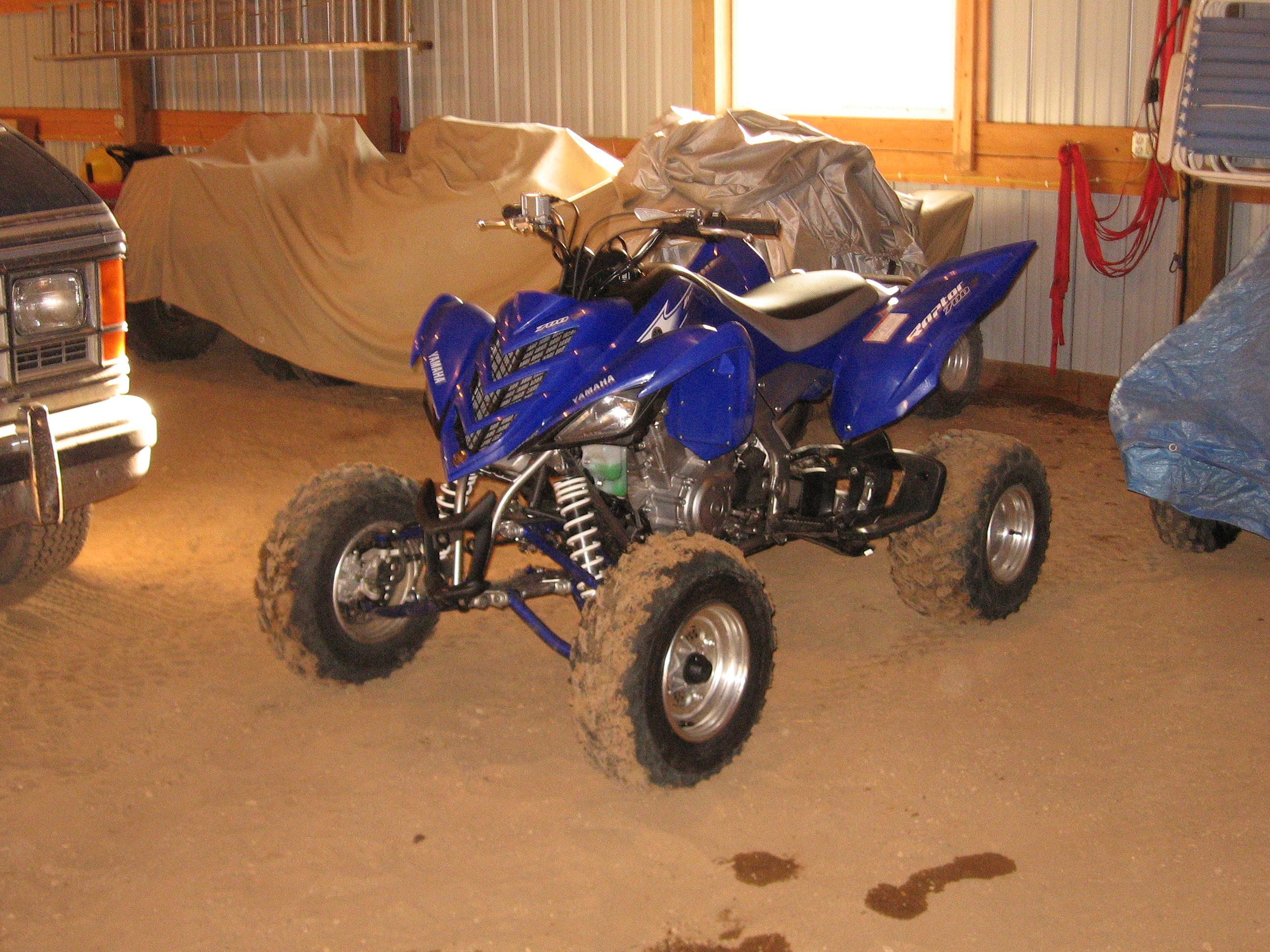 Yamaha raptor photo - 1