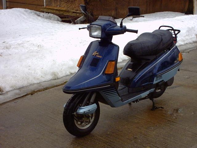 Yamaha riva photo - 2