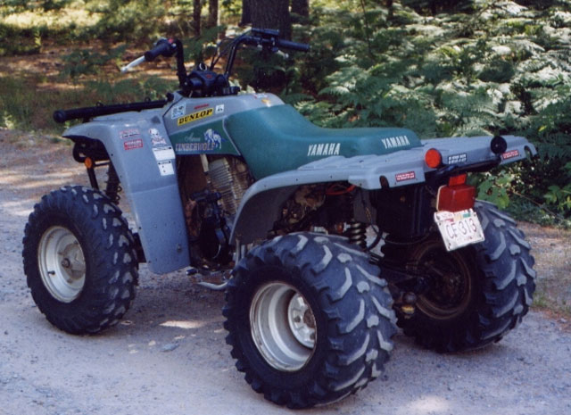 Yamaha timberwolf photo - 1