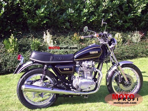 Yamaha xs650 photo - 2