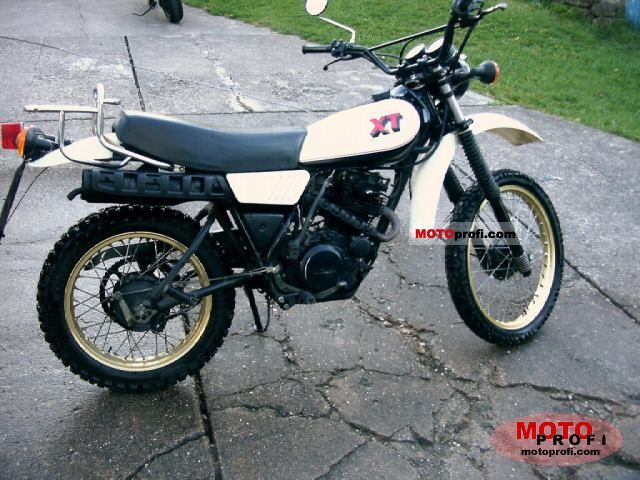 Yamaha xt photo - 4