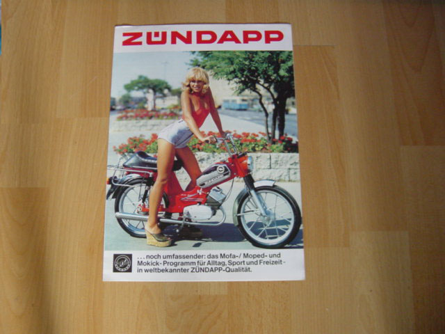 Zundapp mofa photo - 3